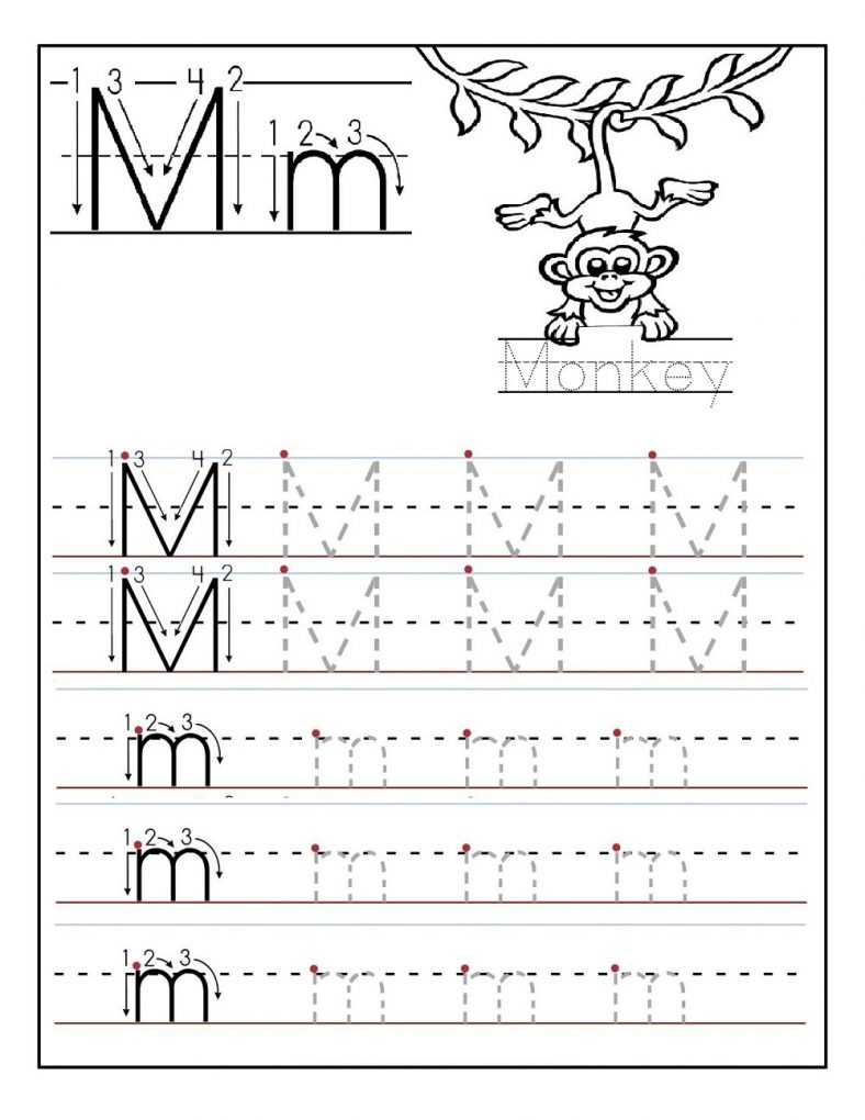alphabet tracing | Learning Printable