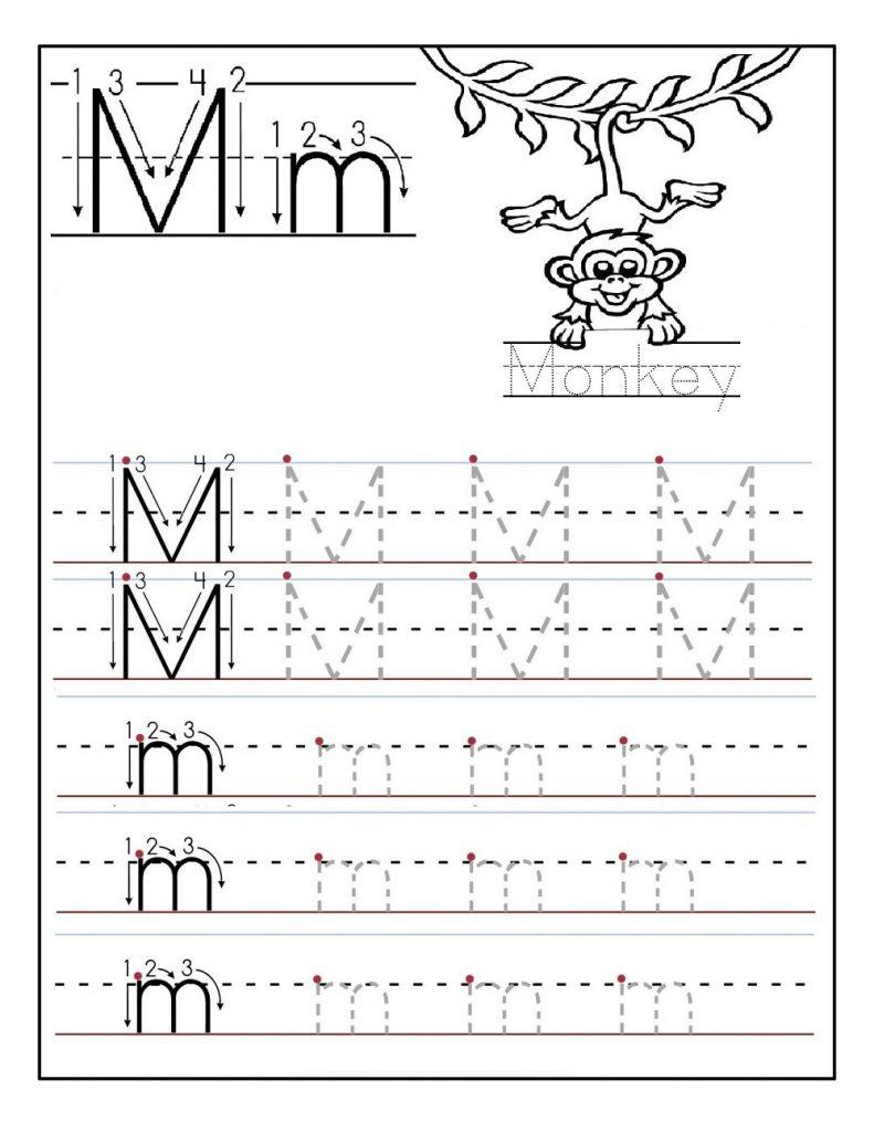 abc tracing activity sheets M