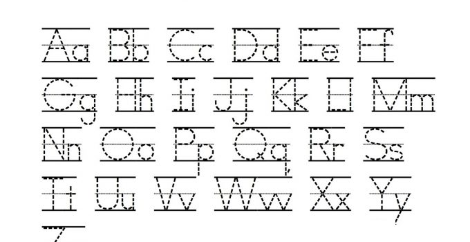 alphabet printables worksheet