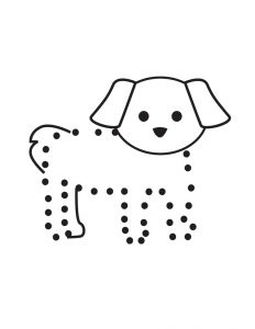 connect the dots worksheets easy