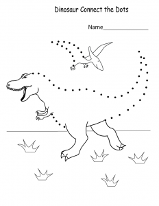 connect the dots worksheets for kids