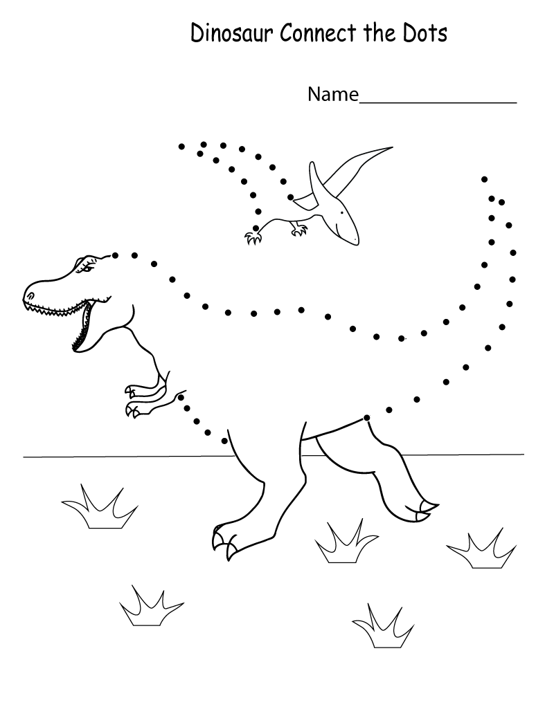 Connect the Dots Worksheets for Kids   Learning Printable