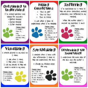 free printable reading strategy posters for kids