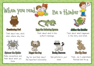 free printable reading strategy posters fun