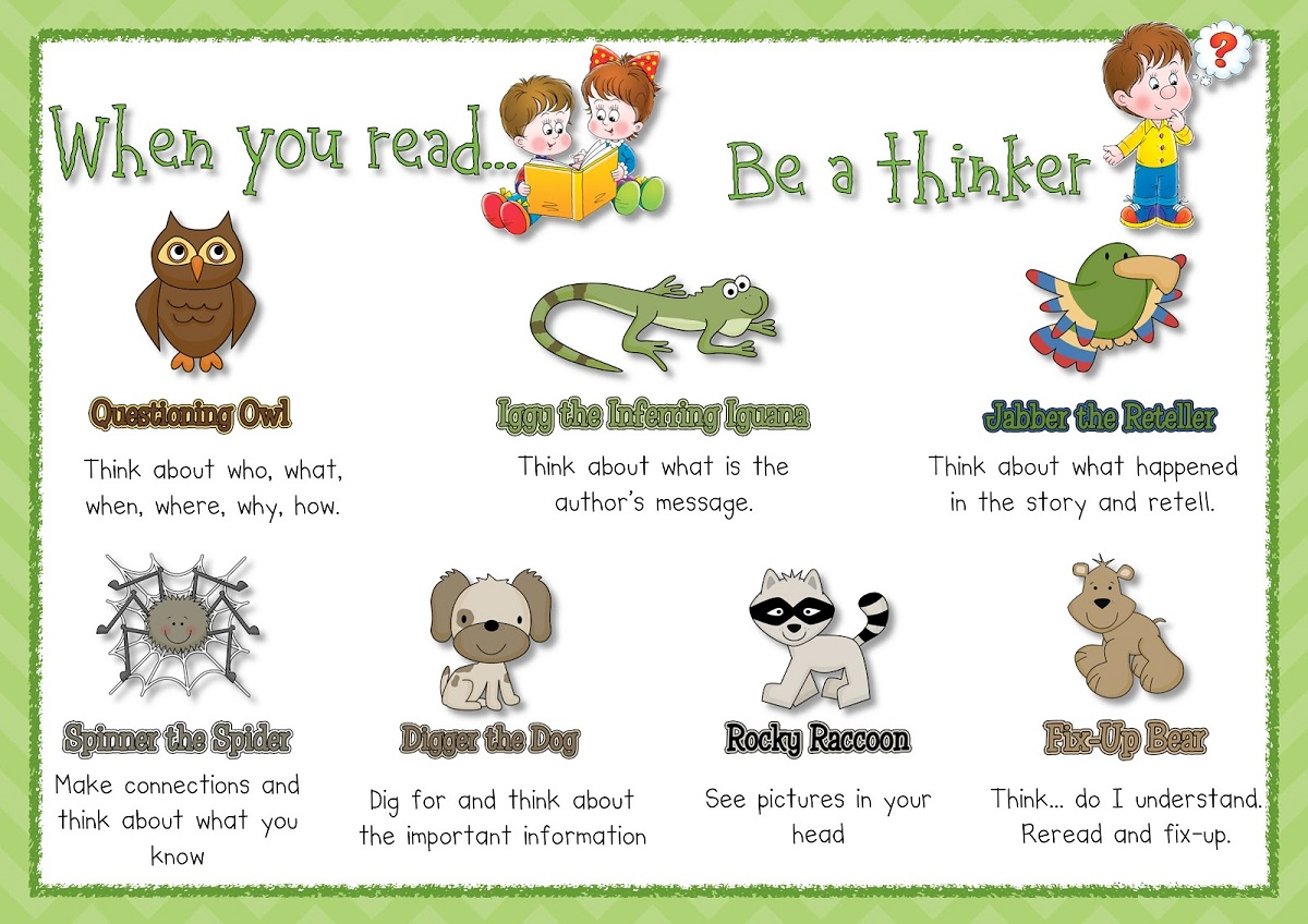Free printable reading strategy posters learning printable for Free printable funny posters