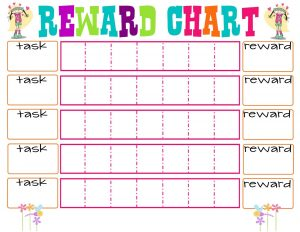 free rewards chart fun