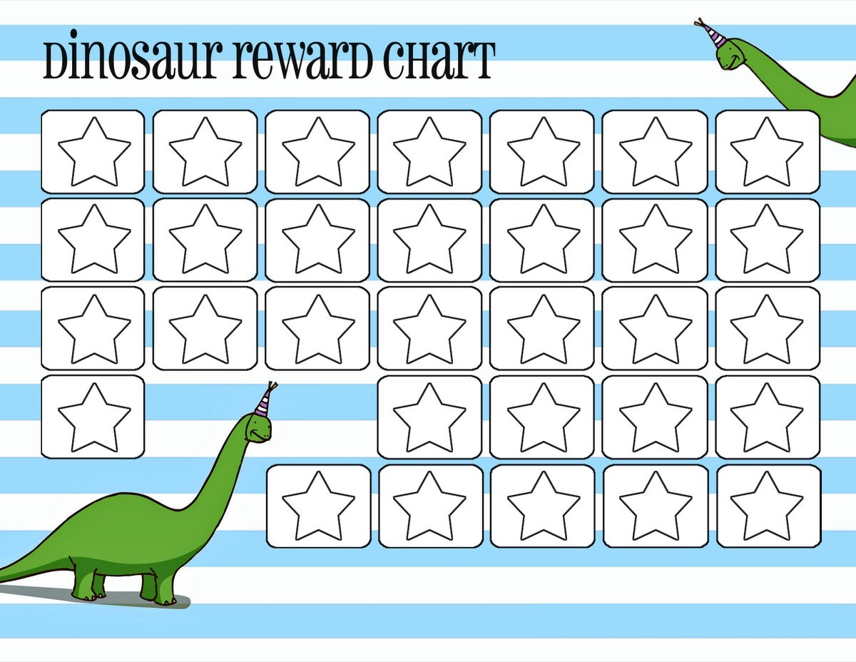 free rewards chart simple