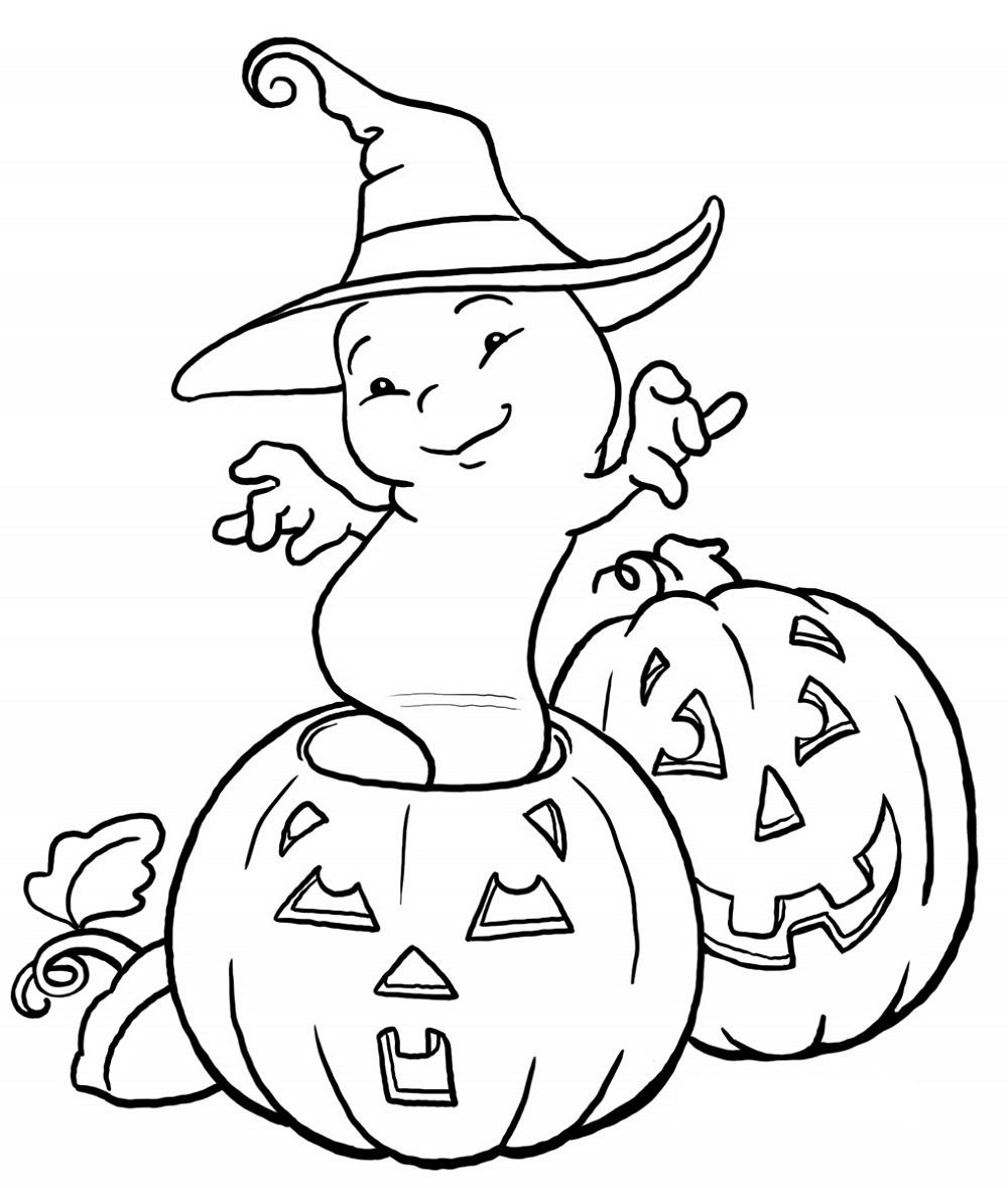 halloween coloring sheets practice