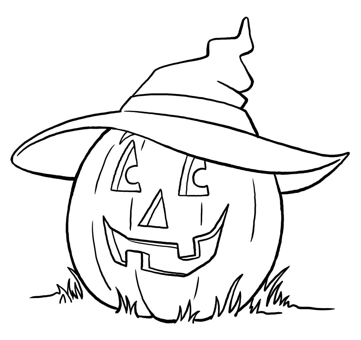 halloween coloring sheets printable