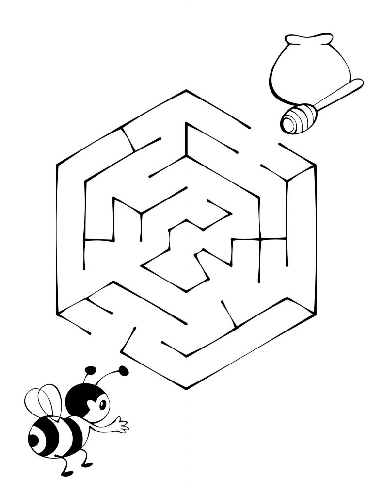printable maze for kids free