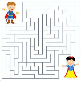 printable maze for kids practice