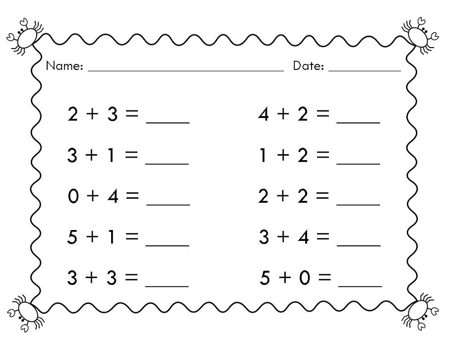 easy 1st grade math worksheets learning printable. Black Bedroom Furniture Sets. Home Design Ideas