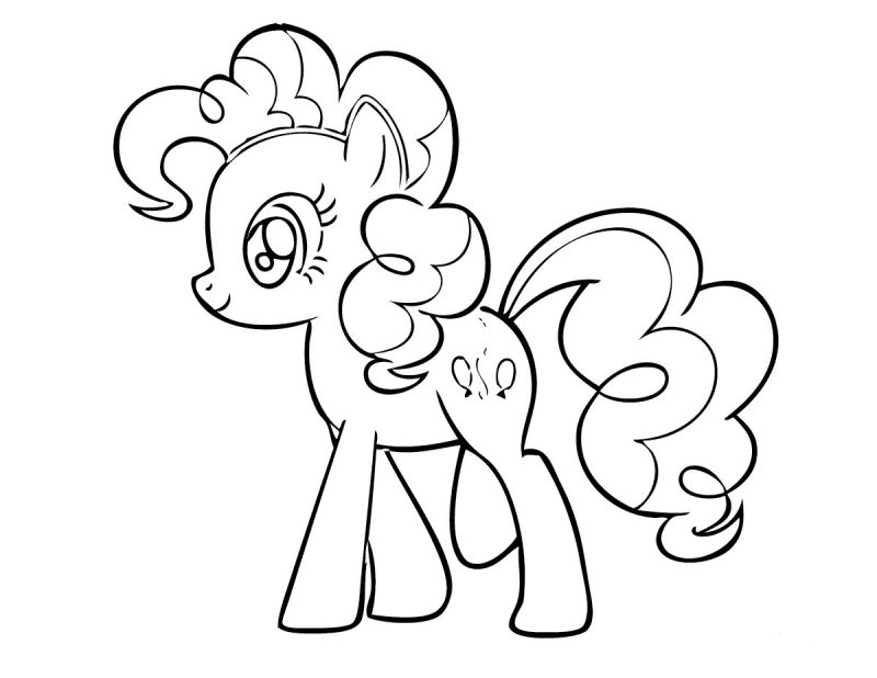 My LITTLE pony coloring activity