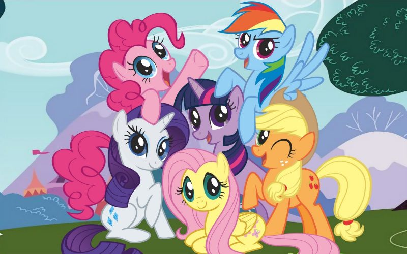 My LITTLE pony characters picture full color