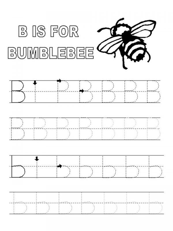 a b c tracing worksheets activity