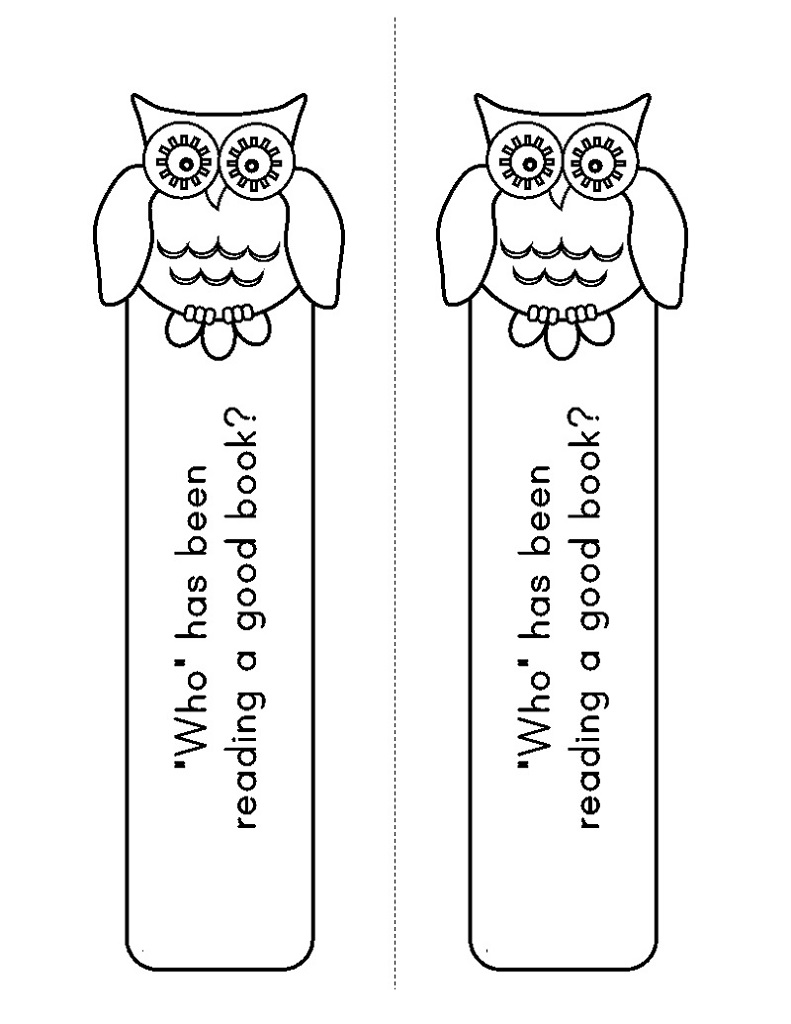 cute bookmarks to color fun