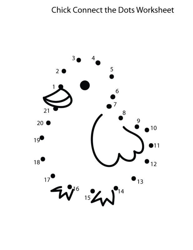 dot to dot number worksheets fun duckling