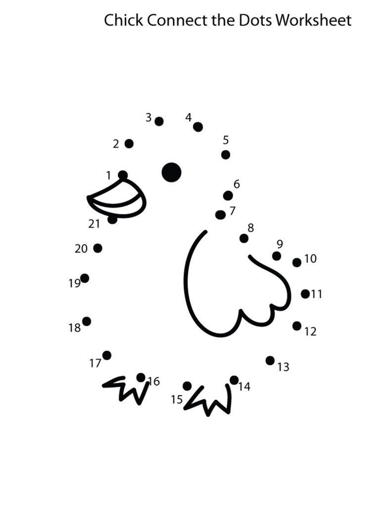Fun Dot To Dot Worksheets : Dot to number worksheets fun learning printable