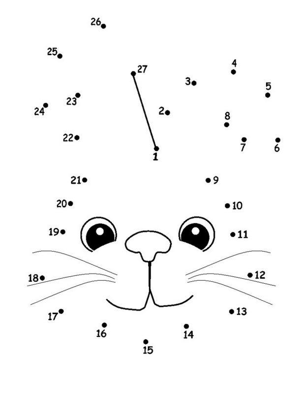 dot to dot number worksheets practice