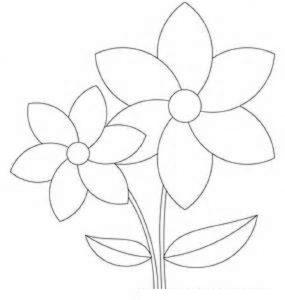 flower template print free