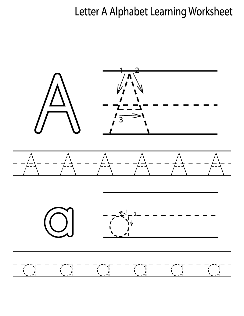 free alphabet worksheets easy