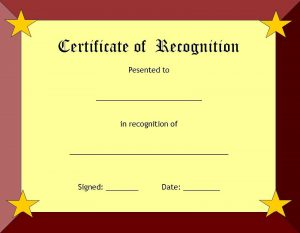 free certificate templates blank