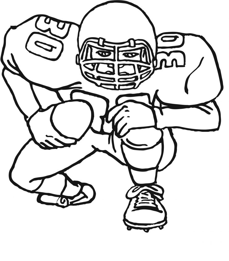 football coloring pages Learning
