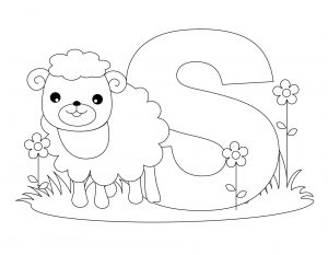 free printable worksheets for the letter S for kindergarten coloring