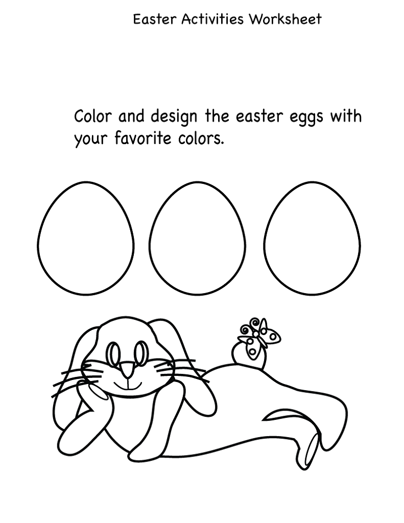 kid activity pages printables easy