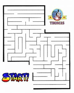 kid maze worksheets activity