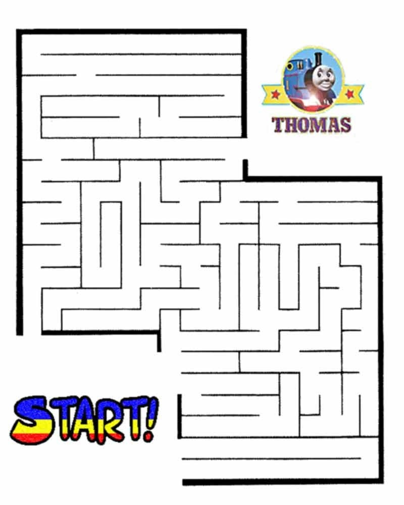 kid maze worksheets activity