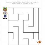 kid maze worksheets easy