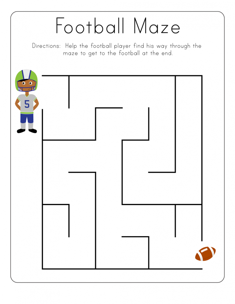 Free printable maze worksheets