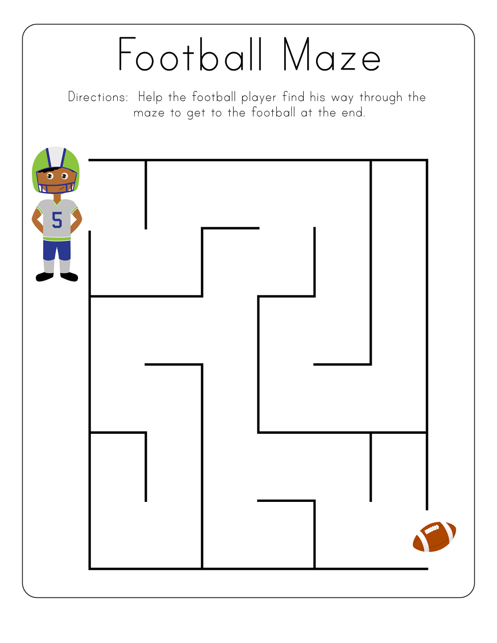 Kid Maze Worksheets to Print | Learning Printable