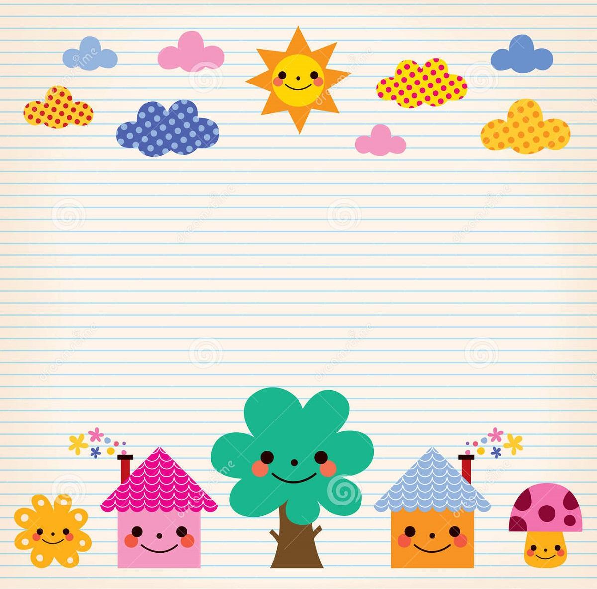 paper template kids fun