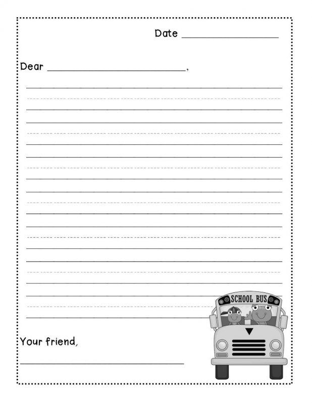 paper template kids printable
