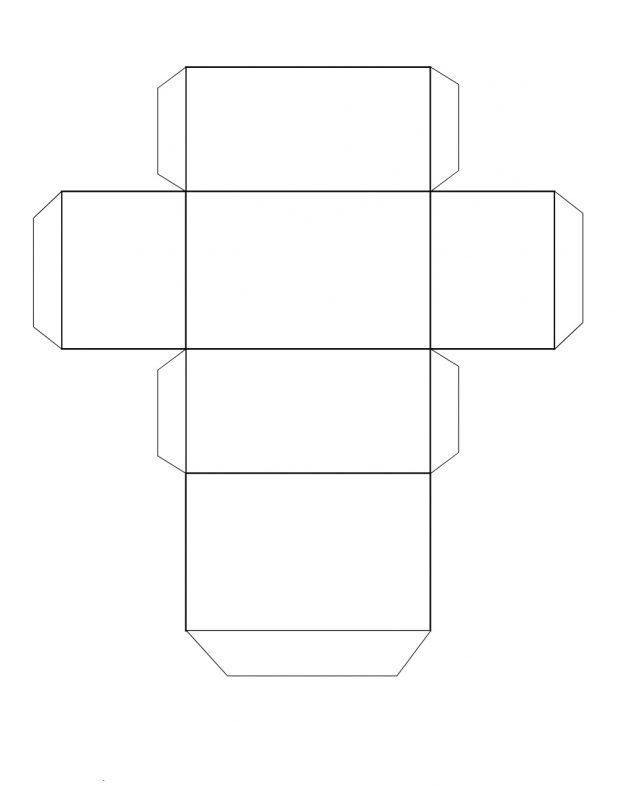 rectangular prism net printable