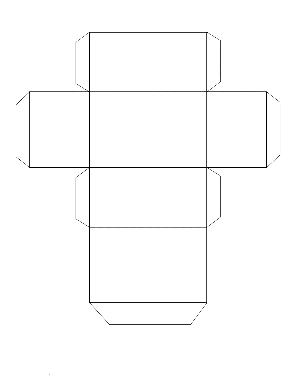 how to draw a rectangular prism on isometric dot paper