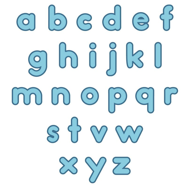 the alphabet lower case list