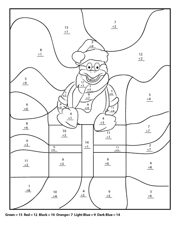 4th grade math worksheets Christmas u2013 Learning Printable