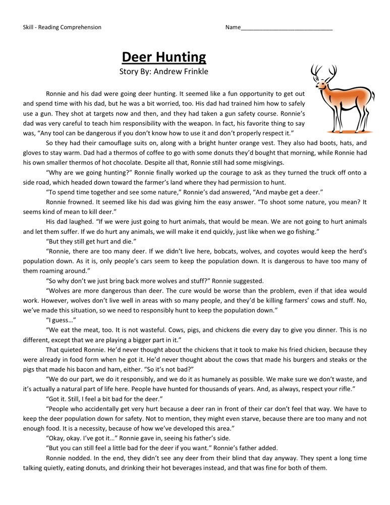 Worksheets For Sixth Grade : Th grade worksheets reading learning printable