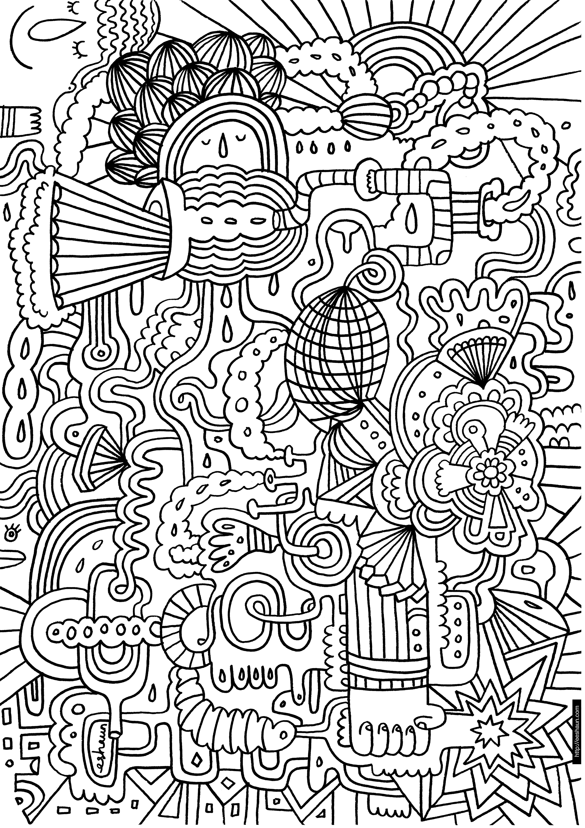 Crayola Coloring Pages for Adults