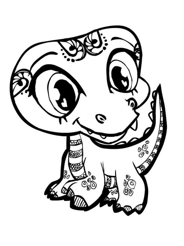 Cute Coloring Pages for Teens