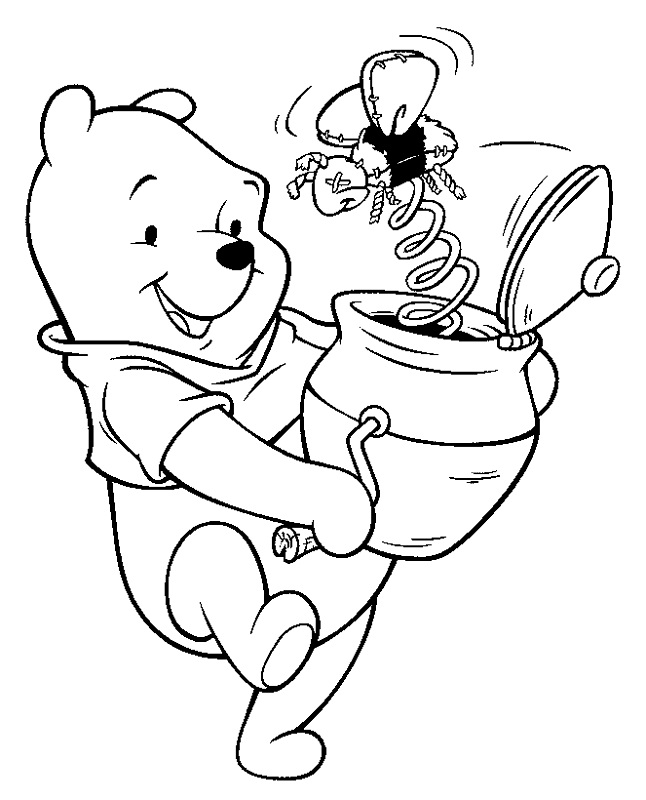 Free Coloring Pages From Disney Pooh