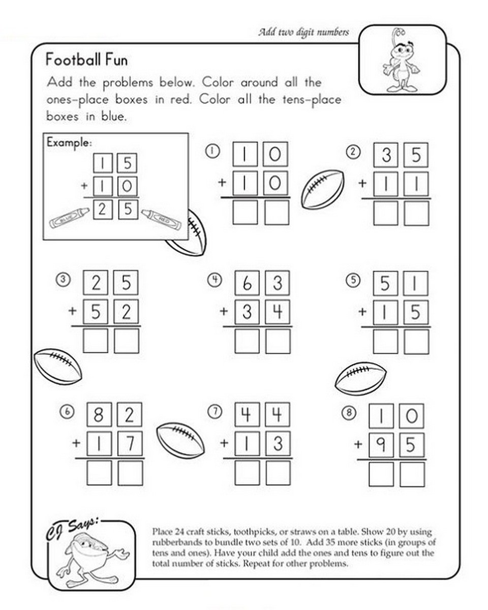 Fun math worksheets