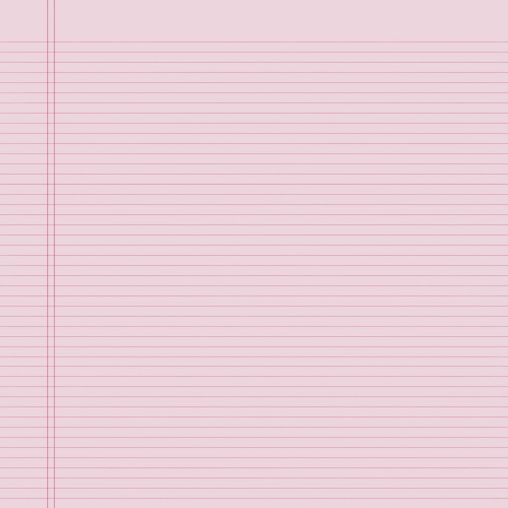 Wallpaper Lined Paper: Lined Notebook Paper Template Pink