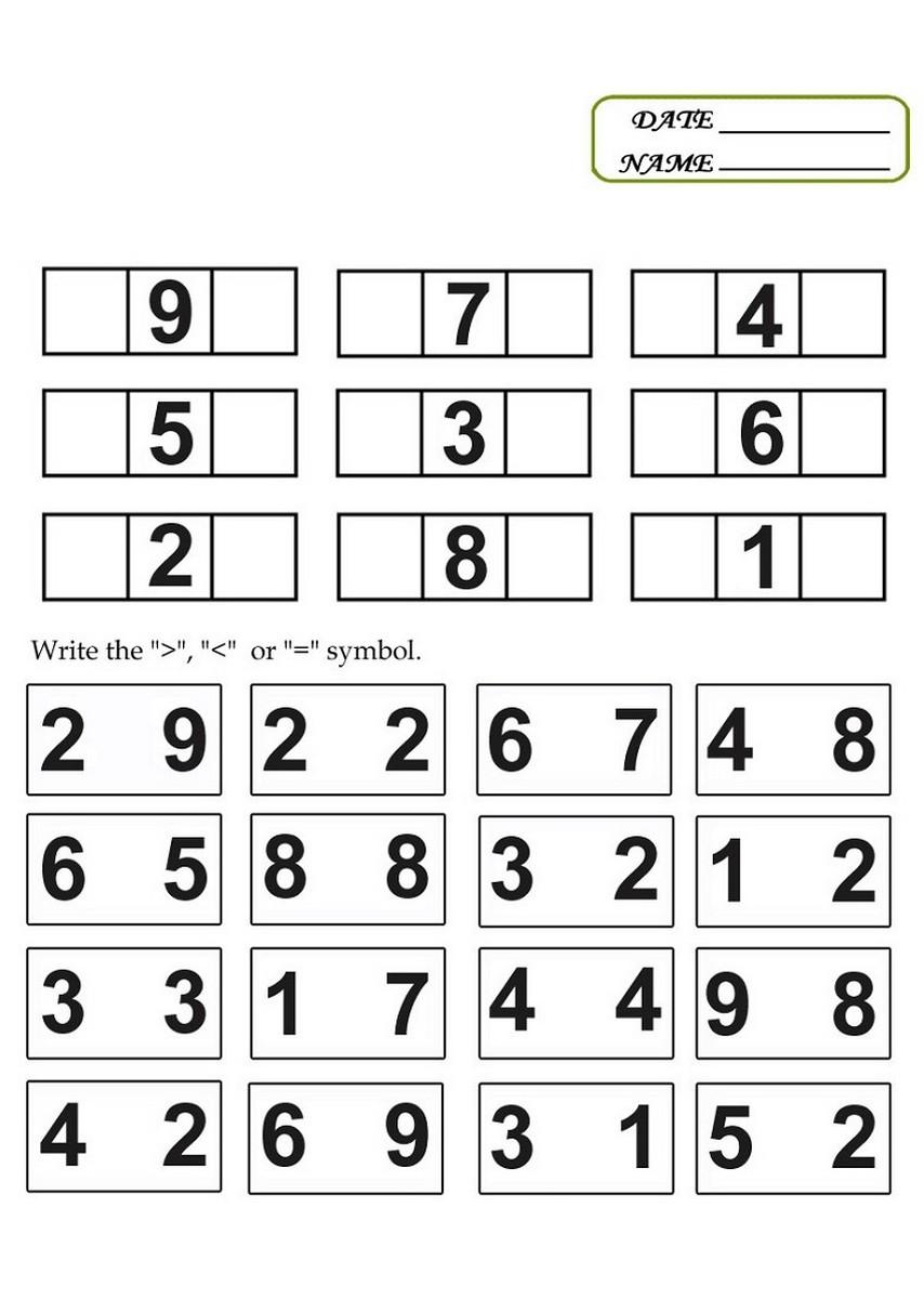 Math worksheets 4 kids – Learning Printable