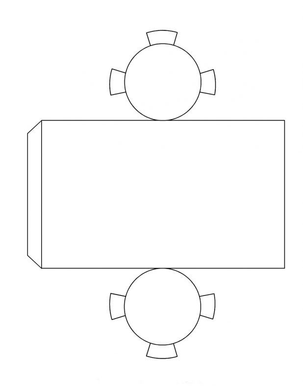 geometry nets printable cylinder