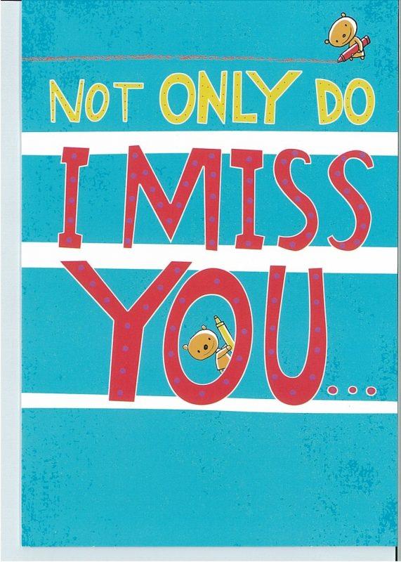 miss u card cover