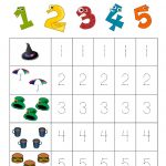Number 2 Tracing Worksheets Learning